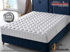 Saltea cu ioni de Argint Ortopedica Silver X - Antibacteriana Antistatica Mattress, Bed, Furniture, Home Decor, Cots, Comforters Bed, Decoration Home, Stream Bed, Room Decor