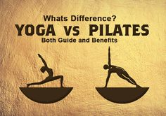 They are both very popular worldwide. Some exercises are used in both Yoga and Pilates, which only makes the whole thing more complicated, and most people cannot tell the difference between them. We will tell you more about each of these exercises. Yoga Vs Pilates, Pilates Poses, Yoga Poses, Pilates Benefits, Yoga Benefits, What Is Yoga, Types Of Yoga, Physical Fitness, Different