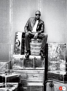 Jay Z on The Throne...GQ