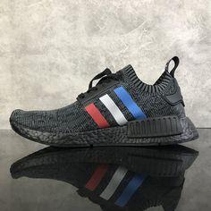 0758d07d4 Adidas NMD R1 Tri Color Stripes