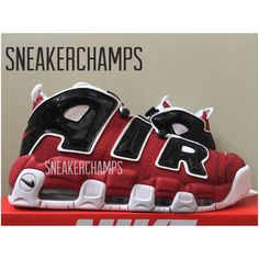"I guess Nike finally heard our lament and finally decided to bring back the ""Nike Air More Uptempo 96 Asia Hoop Red"". Great was my elation yesterday when"