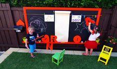 15 Cool Outdoor Chalkboard Walls For Kids | Kidsomania