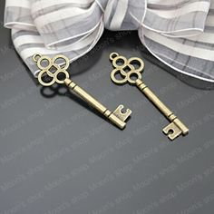 Aliexpress.com : Buy (26494)Fashion Jewelry Findings,Accessories,charm,pendant,Alloy Antique Bronze 46*15MM Key 20PCS from Reliable Findings suppliers on Moon's shop