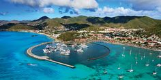 MArina Fort Louis French side St Marten, a great place to spend some time!