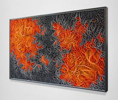 Vibrantly Hued Canvas Sculptures by Artist Duo 'Stallman'