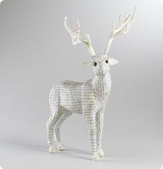 Paper Mache Giraffe Figurine
