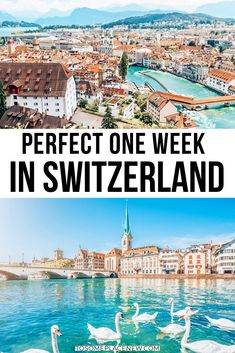 Expert's guide to 7 days in Switzerland. Use this Switzerland Itinerary 7 days to visit the most beautiful places from cities to nature.