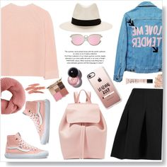 Comfy. by gul07 on Polyvore featuring moda, iHeart, High Heels Suicide, T By Alexander Wang, Vans, Mansur Gavriel, rag & bone, Casetify, Stila and La Mer