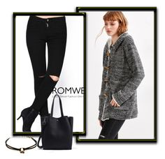 """Romwe -XXI/5"" by dzemila-c ❤ liked on Polyvore featuring vintage and romwe"
