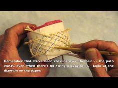 ▶ Turk's-head bracelet, 7x17, tied in cotton. - YouTube