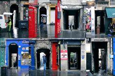 A variety of Edinburgh closes