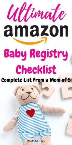 Having a baby is a big responsibility for both parents.Ensuring that you have everything that your baby will need can be an extremely daunting task. Even shopping for my baby was hard work. Baby Registry Checklist, Best Amazon Products, Amazon Clothes, Amazon Baby, 5 Babies, Baby Must Haves, Having A Baby, Best Gifts, Parents
