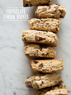 Chocolate Chunk and Cinnamon Scones