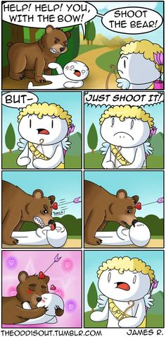Cupid Helps Out http://ibeebz.com