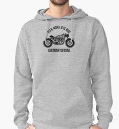 Cafe Racers-Fuck Work Let's Ride by packlek