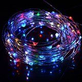 HAHOME Waterproof Led String Lights33Ft 100 LEDs Indoor and Outdoor Starry Lights with Power Supply for Christmas... christmas deals week