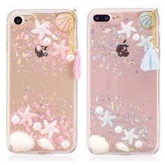 Ocean Starfish Sequins Soft Case Phone Case Cover For Iphone 6/6Plus/7/7Plus