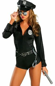 "Roma Costume ""My Way Patrol"" Sexy Patrol Cop Costumes for Women - Price: $59.95"