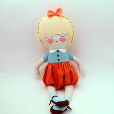 """18"""" cloth doll"""
