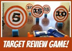 And Here We Go!: Target Practice Review Game!