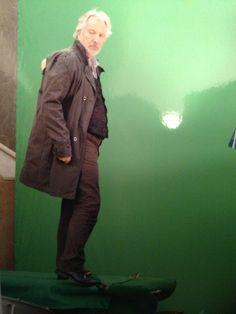 Alan RIckman, Dust behind the scenes #boyfriend #yesiadorehim