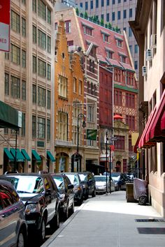 South William Street, 2 blocks below bustling Wall Street