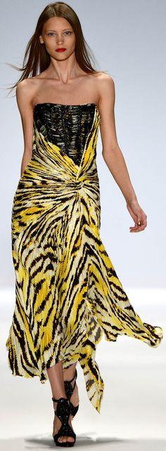 My Favorite Runway Fashions from Carlos Miele Spring Summer 2013 Ready To Wear Collection