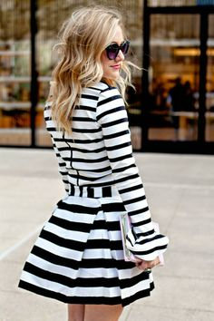 women's fashion stripes.http://www.halftee.com