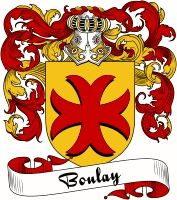 Boulay Coat of Arms  Boulay Family Crest   VIEW OUR FRENCH COAT OF ARMS / FRENCH FAMILY CREST PRODUCTS HERE