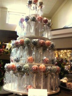 Pink Blossom Bakery: Formerly Party Pops by Julie #cakepops #cakepopcake #cupcakes #guestfavor #bridalshower #w101nashville