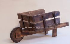Wheelbarrow Prop Newborn Photo Prop Newborn by MrAndMrsAndCo, $85.00