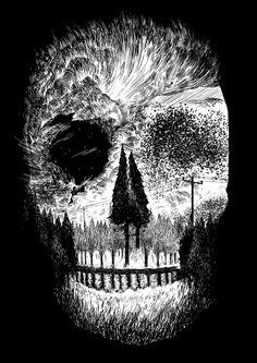 Starlight Starlings- Sam Rowe samdraws.com Follow