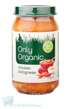 Nutritious Chicken Bolognese  http://www.shopnewzealand.co.nz/en/c/ONLY_ORGANIC