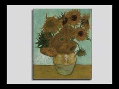 Van Gogh Sunflowers - a video collection of his originals