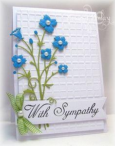 memory box dies cards | Cards: Memory Box Dies / Memory Box Bella Bouquet