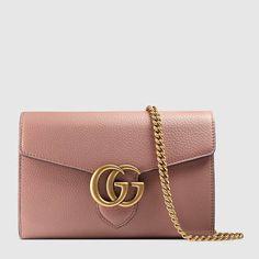 Gucci GG Marmont leather mini chain bag