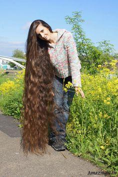 Beautiful Long Hair, Amazing Hair, Gorgeous Hair, Indian Hairstyles, Down Hairstyles, Girl Hairstyles, Long Indian Hair, Long Hair Models, Rapunzel Hair