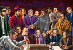 Todos los campeones del mundo en forma de caricatura y también otros que no lo fueron por poco…