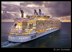 One day I will journey onto the Oasis of the Seas. What a beauty!