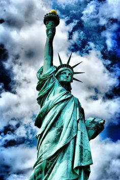 The Statue of Liberty, New York, NY, USA. #usa #newyork #statue_of_liberty STATUE OF LIBERTY USA multicityworldtravel