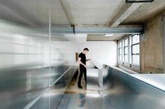Architecture, Charming Inhabitable Aluminum Design: My Aluminum House