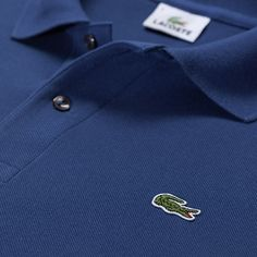 Lacoste - Blue polo shirt
