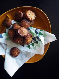 Hartige shortbread koekjes met restjes brie en ham