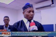 Tres meses de prisión preventiva contra joven acusado de trafico de Drogas