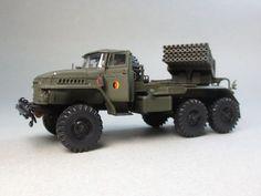 BM-21 Grad Bm 21 Grad, Army Men, Military Vehicles, Tractors, Monster Trucks, 21st, Activity Toys, Frases, Trucks