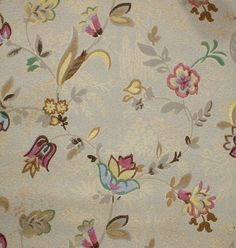 1930's Vintage Wallpaper  Antique Floral with by HannahsTreasures, $14.00