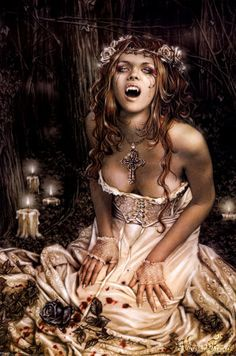 Why, when I type in Vampire gothic it manly comes up with girls? (not complaining but why? )