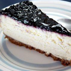 Blueberry New York Cheesecake
