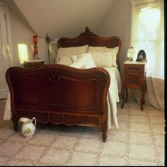 Victorian bedroom. Like this simple yet historically accurate room.