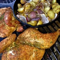 Rosemary Chicken and Skillet Potatoes recipe